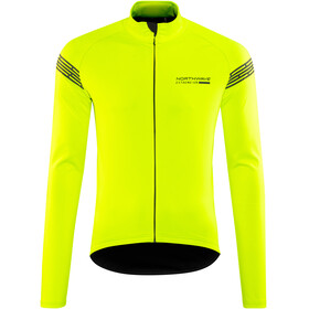 Northwave Extreme H2O Light Jacket Longsleeve Men Yellow Fluo